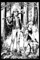 The Walking Dead Game Commission by KR-Whalen