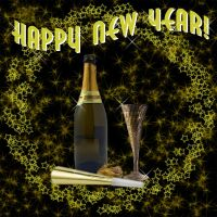 Happy New Year by Medallion2012