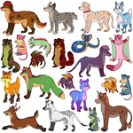 Animal Adopts 14 -OPEN- by Moufy
