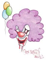 pennywise by lilblackridinghood