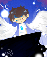 Heavenly Pianist by princelupin