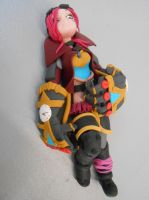 Figurine of Vi in polymer clay. by Phaneres