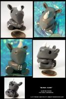 Tiny Rhino Chibi by CatharsisJB