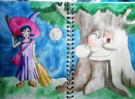 Maple and the Holondrum tree by nerdylittleminds