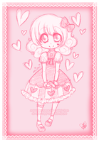 :: pink mimi doodle by kinies