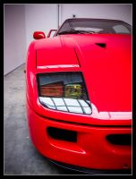 Ferrari F40 See The Light by Andso