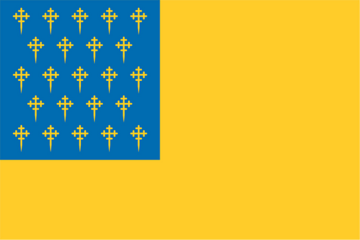 Flag Dump: AltHistory Galician Protectorate by ThaDrummer