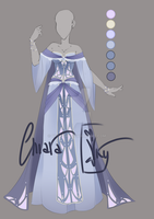 :: Adoptable Chalcedony Outfit: AUCTION CLOSED:: by VioletKy
