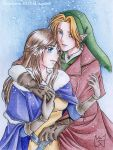 Commission - Link and Serenity by Maga-Link