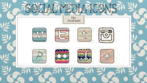 Social Media Icons Pack 4 by Anulowlin