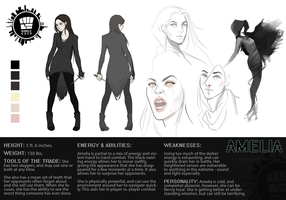 Amelia - OC Reference Sheet by alyyssa