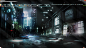 Firefox Transparent Skin Style 'Stylish' [FAT] by At-MsUpload