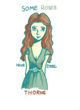 Steel thorns by TheAwesomeFaerie