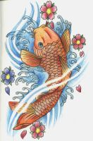 Koi Fish 2 by 12KathyLees12