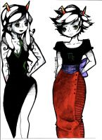 Porrim and Kanaya by TravelersDaughter