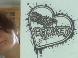 Heart Breaker Tattoo Design by XxRoseAlchemistxX