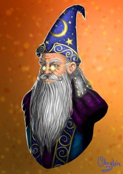 Bust of a Wizard by Obrylin