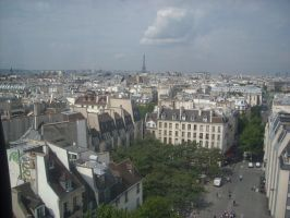 The view of paris by loobyloukitty
