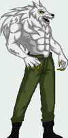 captain doggy form Hr sprite by Rikudo-Kan