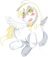 Derpy Hooves by Snovve