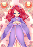 Sleeping Beauty (original by MilanaMill) by Lady-Suchiko