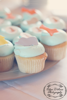 Baby Shower Cupcakes by Grace-like-rainx