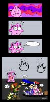 Jigglypuff is not amused by alien-cat