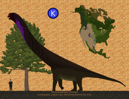 Smaller than a brachiosaurus by Paleop