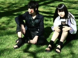 cosplay Hinata and Kiba 1 by PATmaruo