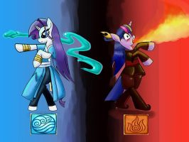waterfirePonybenders by davidvega123