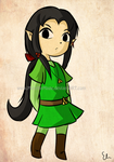 Commission: Wind Waker Selphie by MizutheMage
