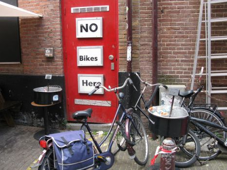 No Bikes by Loiner