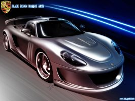 Porsche Carrera GT_Render by BLaCKDesigN