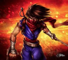 Strider Hiryu by zkne
