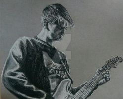 Charcoal Drawing - Andy Westhead by ThrowYourRoses