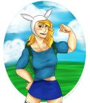 Muscle-gal Fionna by LollypopWolf