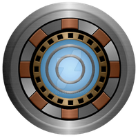 Iron Man Arc Reactor final by KalEl7