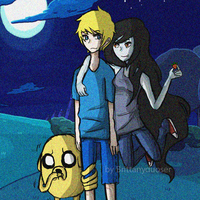 finn, jake and marceline by Duser-JK