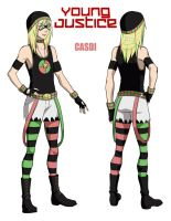 +Casdi Young Justice+ by Sparvely