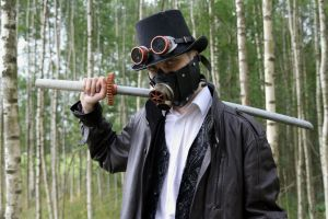 Steampunk Character: Snir 1 by Maroventolo