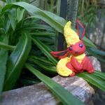 Clay Flareon Figure by boogeybug