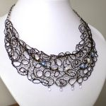 Black Wire Lace by blackcurrantjewelry