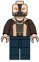 Lego Bane Minifigures, Decals $1.00 by JagaMen