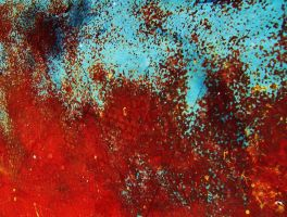 COLOURED RUST TEXTURE STOCK by futuregrrl