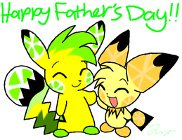 Happy Father's Day! by HeartinaThePony