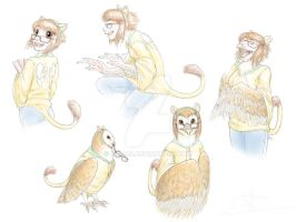 Commission - Owl TF by Birvan