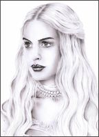 White Queen - Anne Hathaway by Tez-zah