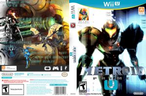 Metroid Prime U Box Art by pokefan514