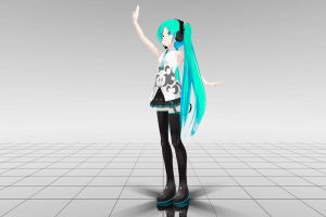Rolling Girl Miku WIP by San-kun-likes-bacon