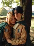 Petra + Levi - SNK by Bexxin